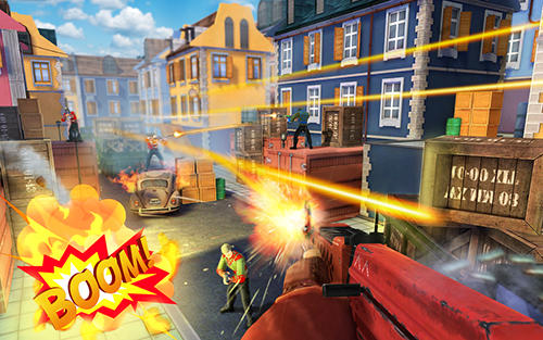 Descarga gratuita de Guns of boom para iPhone, iPad y iPod.