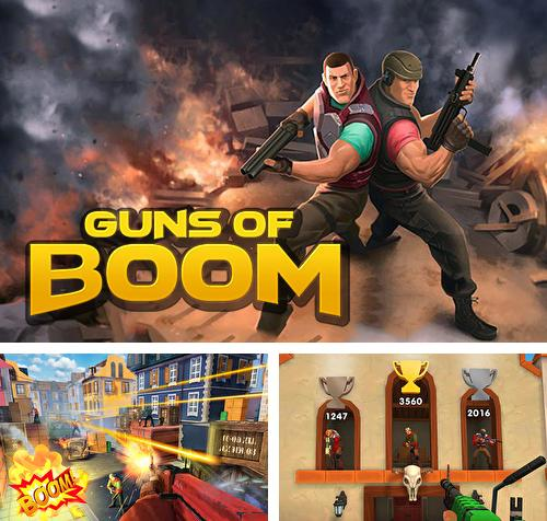 In addition to the game Clash of kings for iPhone, iPad or iPod, you can also download Guns of boom for free.