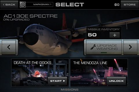 Screenshots do jogo Gunship X para iPhone, iPad ou iPod.