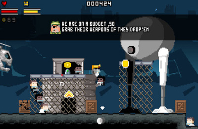 Descarga gratuita de Gunslugs para iPhone, iPad y iPod.