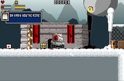 Capturas de pantalla del juego Gunslugs para iPhone, iPad o iPod.