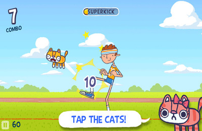 Screenshots of the Hackycat game for iPhone, iPad or iPod.