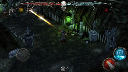 Écrans du jeu Hail to the King: Deathbat pour iPhone, iPad ou iPod.