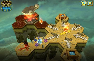 Screenshots of the Hairy Tales game for iPhone, iPad or iPod.