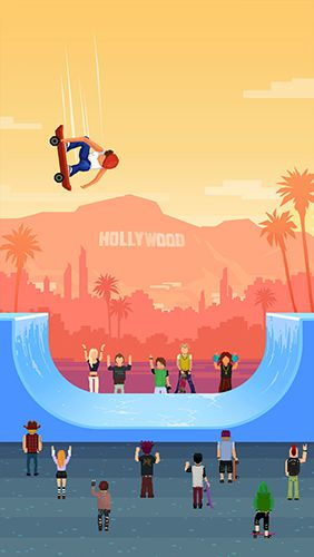 Download Halfpipe hero iPhone free game.