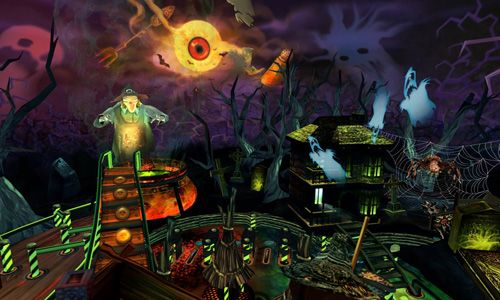 Free Halloween Pinball download for iPhone, iPad and iPod.