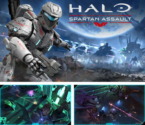 In addition to the game Froggy Splash for iPhone, iPad or iPod, you can also download Halo: Spartan assault for free.