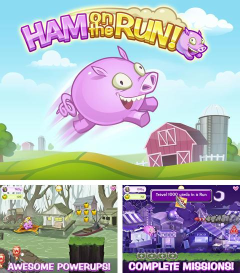 In addition to the game Sushi fight for iPhone, iPad or iPod, you can also download Ham on the Run! for free.