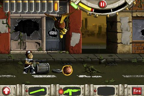 Screenshots vom Spiel Hamburger hunter für iPhone, iPad oder iPod.