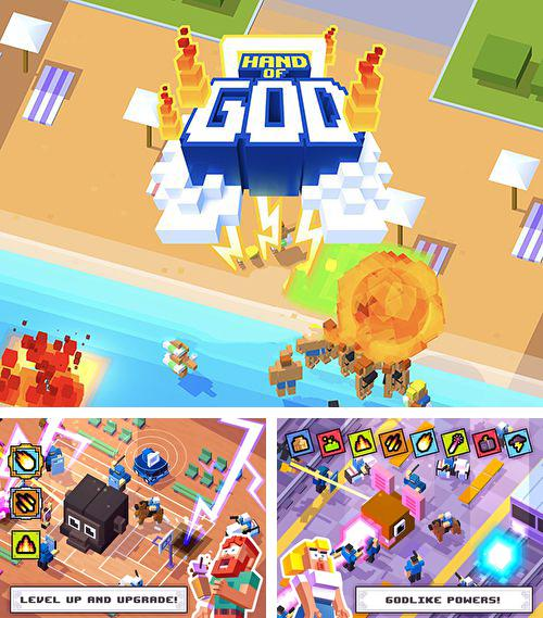 In addition to the game Dungeon Raid for iPhone, iPad or iPod, you can also download Hand of God for free.