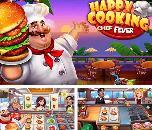 Download Happy cooking: Chef fever iPhone free game.