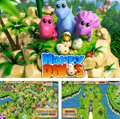 In addition to the game AlexPanda HD for iPhone, iPad or iPod, you can also download Happy Dinos for free.