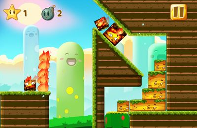 Screenshots of the Happy Hills game for iPhone, iPad or iPod.