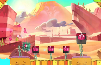 Screenshots vom Spiel Happy Hills 2: Bombs Away! für iPhone, iPad oder iPod.