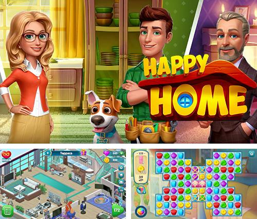 In addition to the game Super Maurer: 3D world for iPhone, iPad or iPod, you can also download Happy home for free.