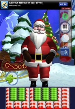Скачать Happy Talking Santa на iPhone бесплатно