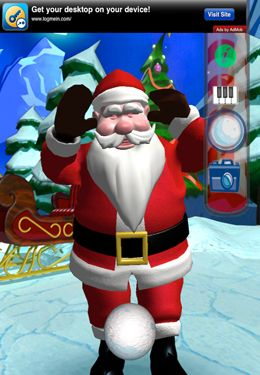 Игра Happy Talking Santa для iPhone