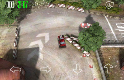 Écrans du jeu Hard Racing pour iPhone, iPad ou iPod.