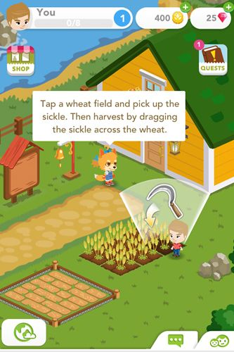 Descarga gratuita de Harvest crossing para iPhone, iPad y iPod.