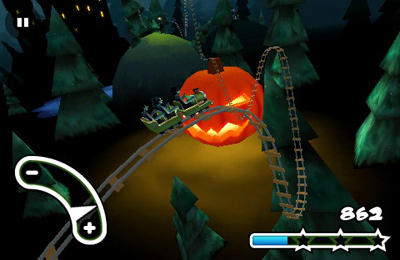 Скачать Haunted 3D Rollercoaster Rush на iPhone бесплатно