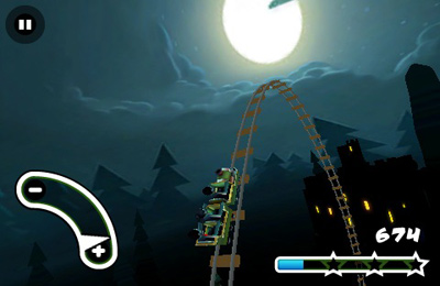 Baixe Haunted 3D Rollercoaster Rush gratuitamente para iPhone, iPad e iPod.