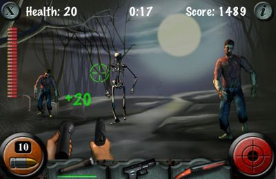 Capturas de pantalla del juego Haunted Cemetery para iPhone, iPad o iPod.