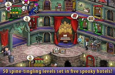 Écrans du jeu Haunted Domains pour iPhone, iPad ou iPod.