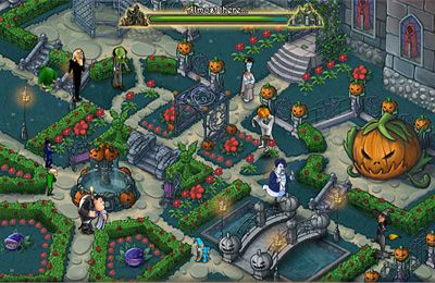 Screenshots of the Haunted Domains game for iPhone, iPad or iPod.