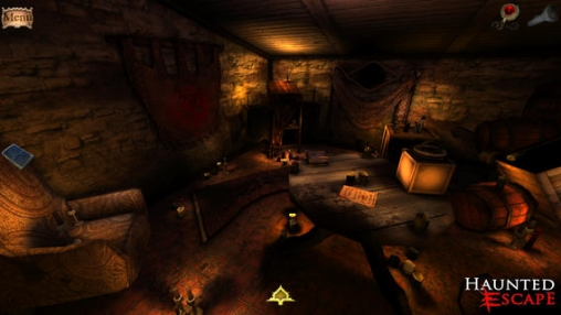 Screenshots of the Haunted Escape: Wrath of Victoria game for iPhone, iPad or iPod.