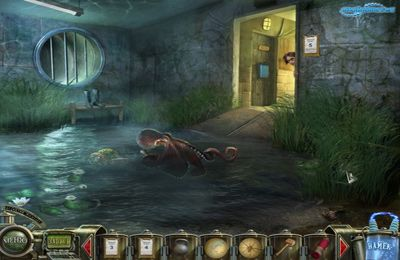 Screenshots vom Spiel Jules Verne's Journey to the center of the Moon – Part 3 für iPhone, iPad oder iPod.