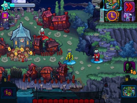 Screenshots of the Haunted hollow game for iPhone, iPad or iPod.