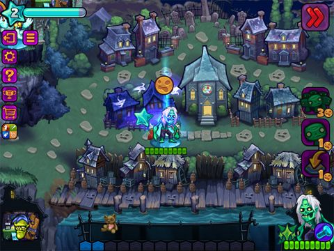 Screenshots vom Spiel Haunted hollow für iPhone, iPad oder iPod.