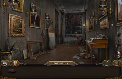 iPhone、iPad または iPod 用Haunted Manor: Lord of Mirrorsゲームのスクリーンショット。