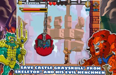 Capturas de pantalla del juego He-Man: The Most Powerful Game in the Universe para iPhone, iPad o iPod.