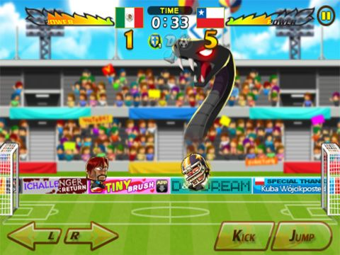 Download Head soccer iPhone free game.