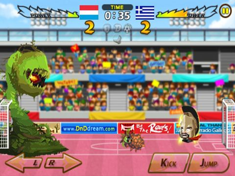 Free Head soccer download for iPhone, iPad and iPod.