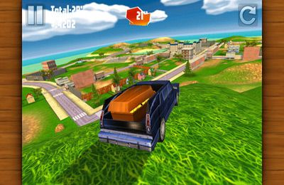 Capturas de pantalla del juego Hearse Driver 3D para iPhone, iPad o iPod.