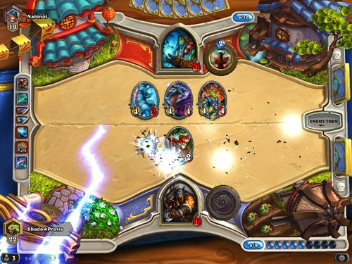 Écrans du jeu Hearthstone: Heroes of Warcraft pour iPhone, iPad ou iPod.