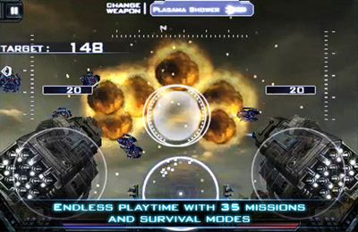Capturas de pantalla del juego Heavy Gunner 3D para iPhone, iPad o iPod.