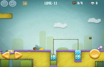 Screenshots vom Spiel Hedgehog Adventure HD für iPhone, iPad oder iPod.