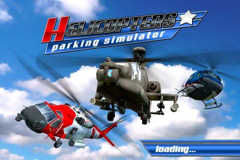 Helicopter parking simulator