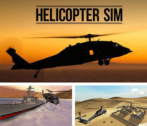 Download Helicopter sim pro iPhone free game.