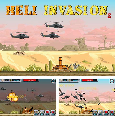 In addition to the game Chaos Minders for iPhone, iPad or iPod, you can also download HeliInvasion 2 for free.