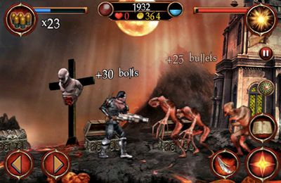 Capturas de pantalla del juego Hell Gore para iPhone, iPad o iPod.