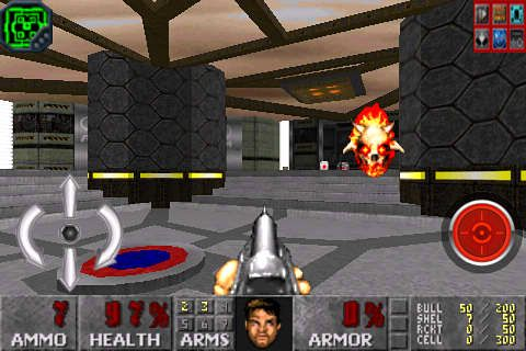 Screenshots do jogo Hell on Earth para iPhone, iPad ou iPod.