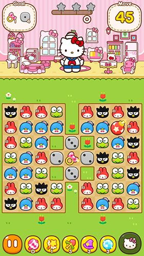 Kostenloser Download von Hello Kitty friends für iPhone, iPad und iPod.