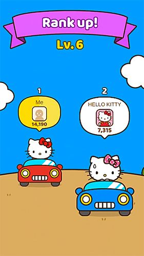 Screenshots vom Spiel Hello Kitty friends für iPhone, iPad oder iPod.