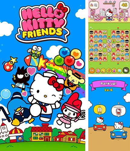 Alem do jogo Monstros de papel para iPhone, iPad ou iPod, voce tambem pode baixar Hello Kitty Amigos, Hello Kitty friends gratuitamente.