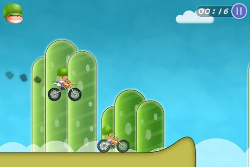 Screenshots of the Hello moto game for iPhone, iPad or iPod.