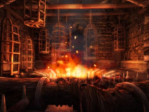 Screenshots of the Hellraid: The escape game for iPhone, iPad or iPod.